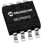 Фото 3/5 MCP6002-I/SN, Операционный усилитель 1.8V 1MHZ DUAL [SOIC-8]