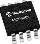 MCP6002T-E/SN, Операционный усилитель, Rail-to-Rail I/O, 2 Усилителя, 1 МГц, 0.6 В/мкс, 1.8В до 6В, SOIC