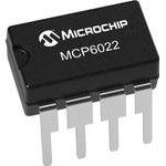 Фото 3/3 MCP6022-E/P, Операционный усилитель, Двойной, 2 Усилителя, 10 МГц, 7 В/мкс, 2.5В до 5.5В, DIP, 8 вывод(-ов)