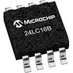 Фото 3/4 24LC16B/SN, Последовательная энергонезависимая память [SO-8]