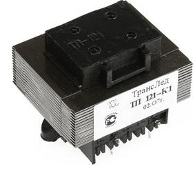 Фото 1/2 ТП121-К1, Трансформатор, 2х6В, 0.4А