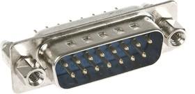 DPBS-15M (DS1034 15M) с креплением, Вилка на плату 15pin