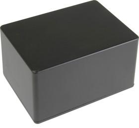 BS29BK, Корпус для РЭА 140x100x75мм, металл, герметичный, черный