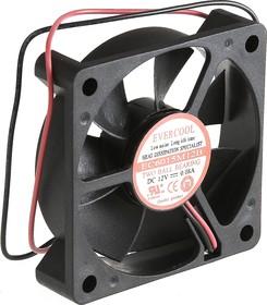 EC6015M12B, Вентилятор 12В, 60х60х15мм , подш. качения, 4000 об/мин | купить в розницу и оптом