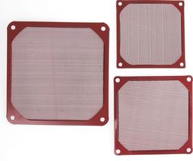 FGF-120/M красный, Фильтр для вентилятора 120х120мм (металл)