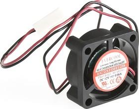 EC2510H12B, Вентилятор 12В, 25х25х10мм , подш. качения, 9000 об/мин