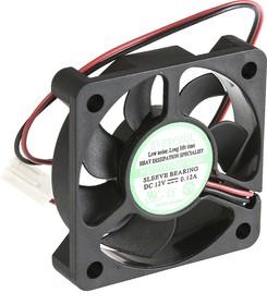 EC5010H12S, Вентилятор 12В, 50х50х10мм , подш. скольжения, 5000 об/мин