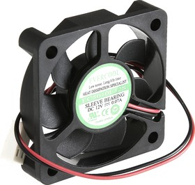 EC5010L12S, Вентилятор 12В, 50х50х10мм , подш. скольжения, 4000 об/мин