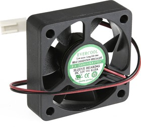 EC5015M12S, Вентилятор 12В, 50х50х15мм , подш. скольжения, 4500 об/мин