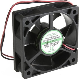 EC6020H12S, Вентилятор 12В, 60х60х20мм , подш. скольжения, 5000 об/мин