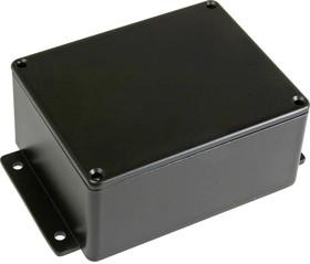 Фото 1/2 BS25MFBK, Корпус для РЭА 114x90x55мм, металл, герметичный, с крепежным фланцем, черный