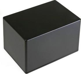 Фото 1/2 BS39BK, Корпус для РЭА 171x121x106мм, металл, герметичный, черный