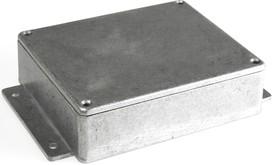 BS23MF, Корпус для РЭА 120x100x35мм, металл, герметичный, с крепежным фланцем