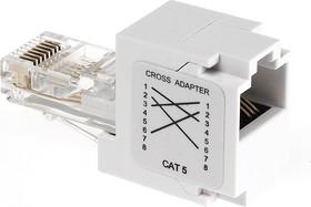 NC-IC35/WH RJ45, Переходник CAT.5 штекер-гнездо (OBSOLETE PRODUCT)