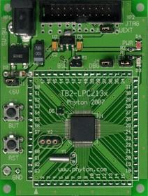 TB2-LPC210x, Отладочная плата для оценки возможностей микроконтроллеря LPC2106 с ядром ARM7TDMI-S