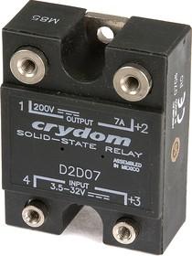 Фото 1/2 D2D07, Реле 3.5-32VDC, 7A/200VDC