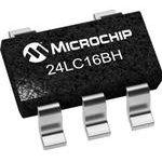 Фото 3/4 24LC16BHT-I/OT, EEPROM, 16 Кбит, 8 BLK (256К x 8бит), Serial I2C (2-Wire), 400 кГц, SOT-23, 5 вывод(-ов)