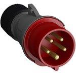 Фото 2/2 Вилка кабельная Easy&Safe 432EP6 32А 3P+N+E IP44 6ч ABB 2CMA101995R1000