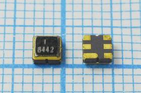 Фильтр на ПАВ 844МГц, полоса пропускания 32000кГц, SAW ф 844000 \пол\32000/1,4\S03030C6\ 6C\HDF844A2S6\\