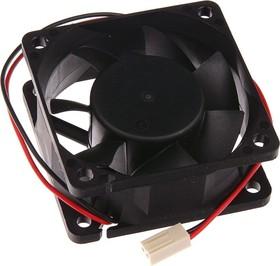 EC6025H12B, Вентилятор 12В,60х60х25мм , подш. качения, 5000 об/мин