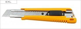 Фото 1/2 OL-EXL, Нож с выдвижным лезвием, с автофиксатором, 18мм