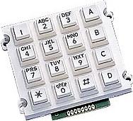 AK-1607-A-WWB, Клавиатура