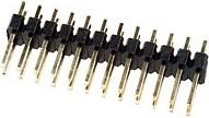 PLD-24 (DS1021-2x12), Вилка штыревая 2.54мм 2х12 прямая тип1