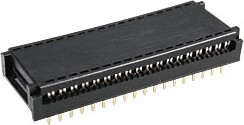 DIP-36 (FDC-36) (DS1019-36W), Разъем широкий DIP на шлейф 36 контактов