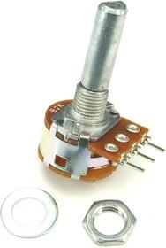 S16KN1-B2K, L25F, 2 кОм, Резистор переменный с выключателем