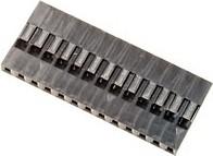 BLS-13 (DS1071 - 1x13), Гнездо на кабель 1х13 с контактами 2.54мм