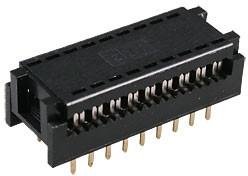 DIP-18 разъем DIP на шлейф 18к.узк.