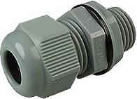 1001M1265-G (MGB12S-06G-ST), Ввод кабельный, полиамид, серый