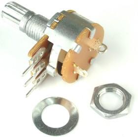 Фото 1/2 S16KN1-B10K, L15KC, 10 кОм, Резистор переменный с выключателем