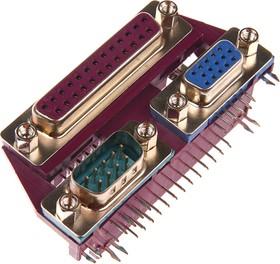 DS1082, Гнездо компьютерное LPT/COM/SVGA