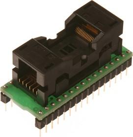 DIP32-TSOP32 ZIF-14mm, Адаптер для программирования микросхем FLASH/EEPROM