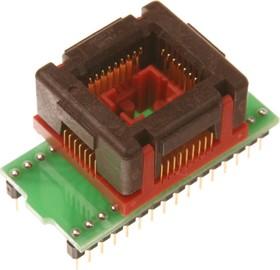 Фото 1/2 DIP32-PLCC32, ZIF-Wells, Адаптер для программирования микросхем (=AE-P32U, TSU-D32/PL32)