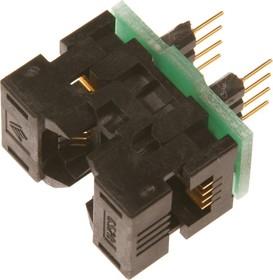 Фото 1/2 DIP-SOIC 8 pin 170 mil, Адаптер для программирования микросхем (=TSU-D08/SO08-170)