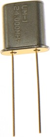 24.000 МГц имп. 20пФ UM1, кварцевый резонатор