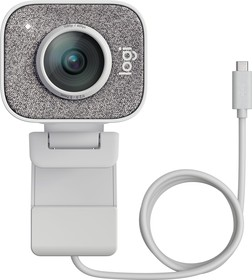 Фото 1/4 Камера Web Logitech StreamCam White белый 2Mpix (1920x1080) USB3.0 с микрофоном