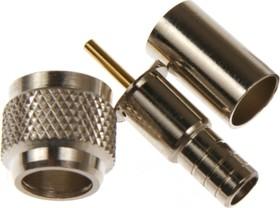 HYR-0703A (GMU-703A) (mini UHF-7602A), Разъем mini UHF, штекер, RG-58, обжим (Crimp)