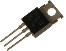 Т106-10-4, Тиристор 10А 400В [TO-220]   купить в розницу и оптом