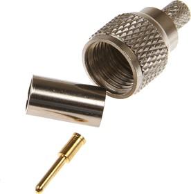 HYR-0701A (GMU-701A) (mini UHF-7601A), Разъем mini UHF, штекер, RG-58, обжим (Crimp)