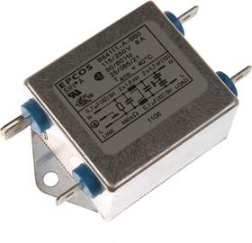 B84111-A-B60, 2x6 A, 250 В, Сетевой фильтр