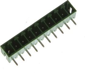 ECH381R-10P, Клеммник 10pin 3,81мм