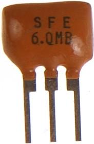 Фото 1/2 LTE= SFE 6.0МГц для ТВ, керамический фильтр