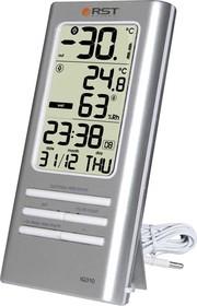 02310, Цифровой термометр- гигрометр, дом/улица, часы