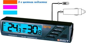 02178, Термометр цифровой, автомобильный