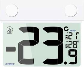 01077, Термометр цифровой уличный на липучке -30-+70