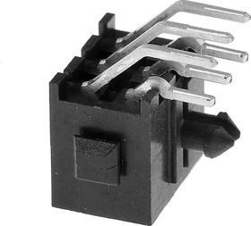3-794618-6 (Micro MATE-N-LOK), Штекер 6 контактов, шаг 3мм