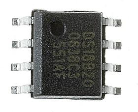 Фото 1/7 DS18B20Z+, Цифровой термометр, 1-Wire, -55...125°C [SIOC-8]